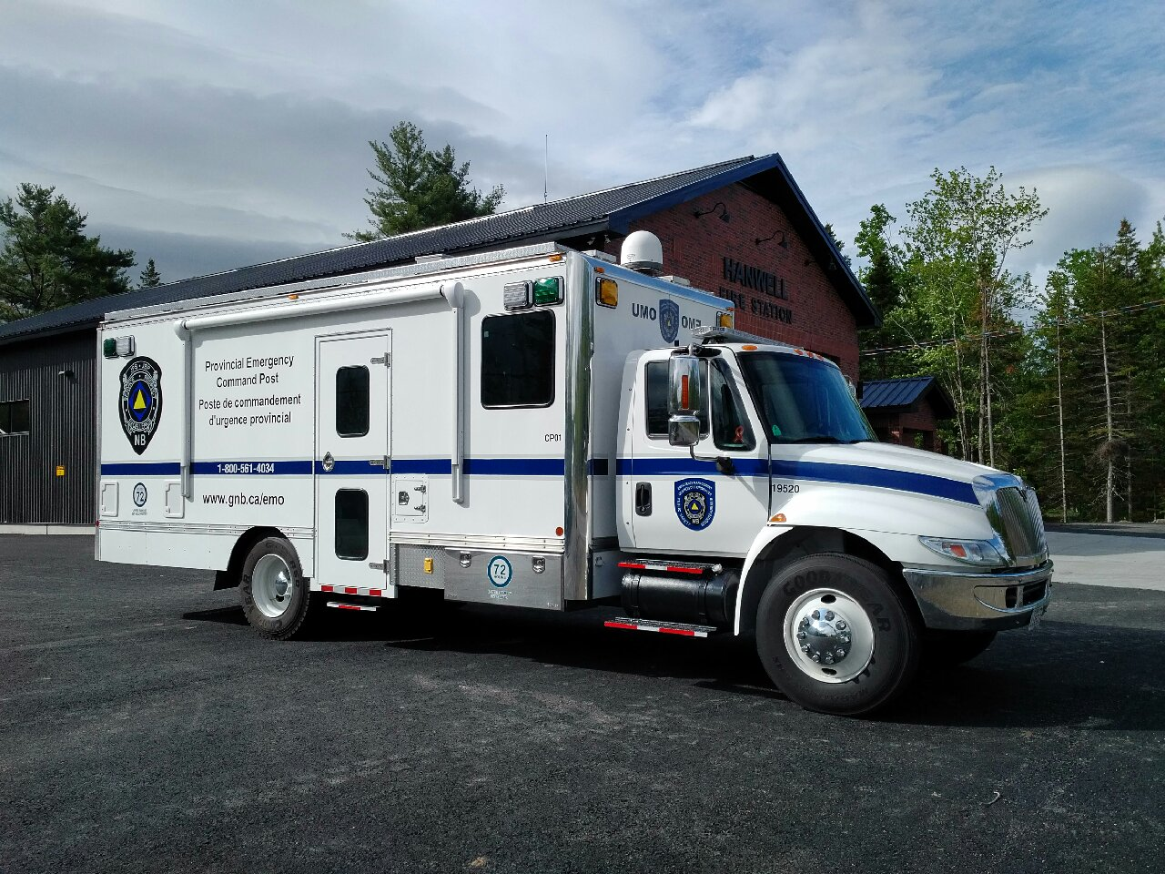 New EMO mobile command post
