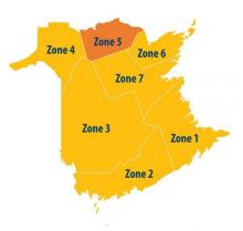 Zone 1 is orange level with additional restrictions